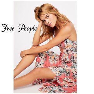 Free People Through The Vine Printed Slip